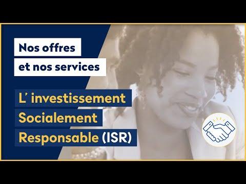 <strong>Qu'est-ce que l'Investissement Socialement Responsable (ISR) ?</strong>