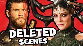 Thor Ragnarok DELETED SCENES, Alternate Post-Credits & Rejected Concepts (Part 1)