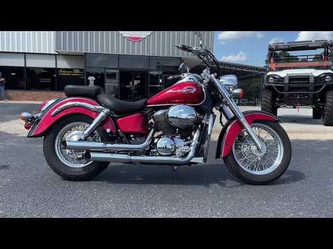 2003 Honda Shadow Spirit 750 in Greenville, North Carolina - Video 1