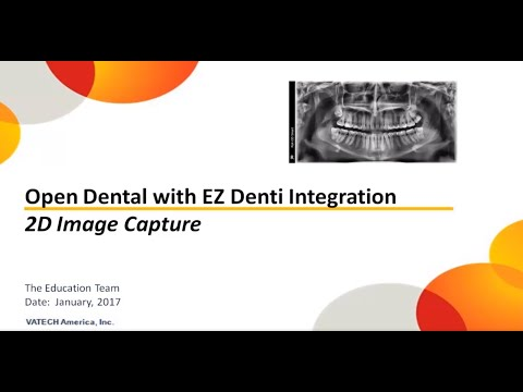 Open Dental 2D Image Integration with EzDent-i