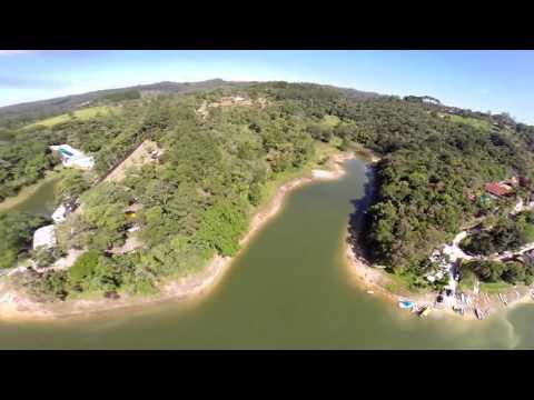 Drone Sobrevoando as Belezas Naturais de Juquitiba Terra de Muitas Águas