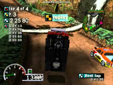 rally cross playstation one