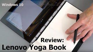 Lenovo Yoga Book Review (Windows 10 Version)