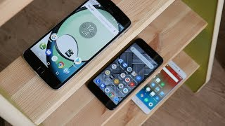 Xiaomi mi a1 vs Meizu m6 note vs Motorola z play, часть 2.