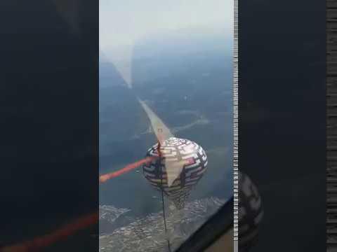 Helicóptero derruba Balão
