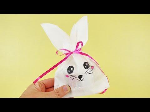 Osterhasentüte - Ausgefallene Geschenkverpackung für Ostern
