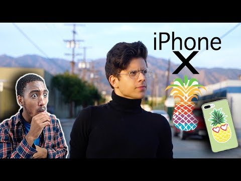 Rudy Mancuso | iPhone X by Pineapple *REACTION*