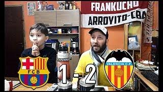 Barcelona Vs Valencia   Reacciones De Un Hincha Argentino   Final Copa Del Rey