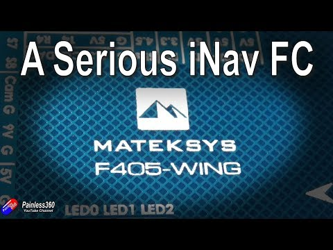 first-look-matek-f405wing-inav-fixed-wing-model-flight-controller