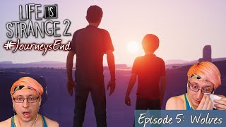The Ending Made Me Cry! - EPISODE 5: WOLVES - Life is Strange 2