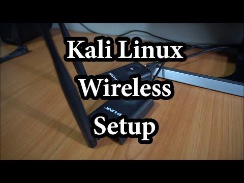 Kali Linux Wireless Setup