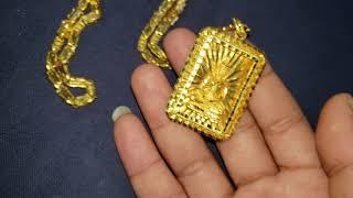 24kt Gold Necklaces & Buddha Pendants Khmer Asian GOLD
