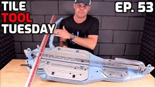 "Best 36"" Tile Cutter? Sigma 3D4 Review"