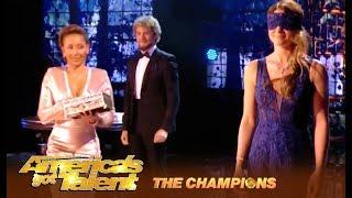 The Clairvoyants:  PSYCHIC Couple Reveal The Judges Love Secrets   America's Got Talent: Champions