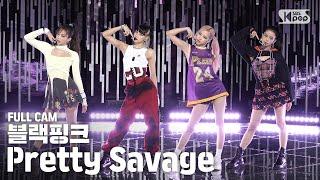 [안방1열 직캠4K] 블랙핑크 'Pretty Savage' 풀캠 (BLACKPINK Full Cam)│@SBS Inkigayo_2020.10.11.