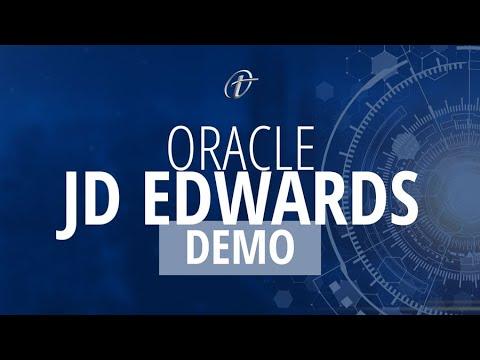 Oracle JD Edwards Demo - YouTube