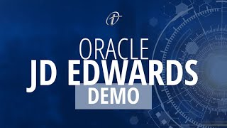Oracle JD Edwards Demo
