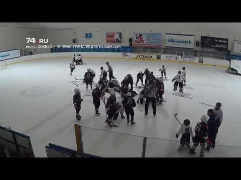 Юные хоккеисты подрались после матча «Трактор» - «Сокол»