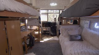 How These College Students Transformed Their Dorm Room