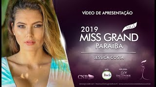 Jessica Caroline Miss Grand Paraiba 2019 Presentation Video