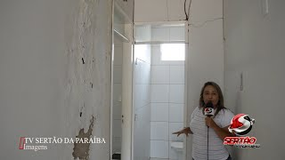 """Posto de Saúde da terra do atual vice-prefeito de Cajazeiras, Marcos do Riacho do meio parece estar """"abandonado"""""""