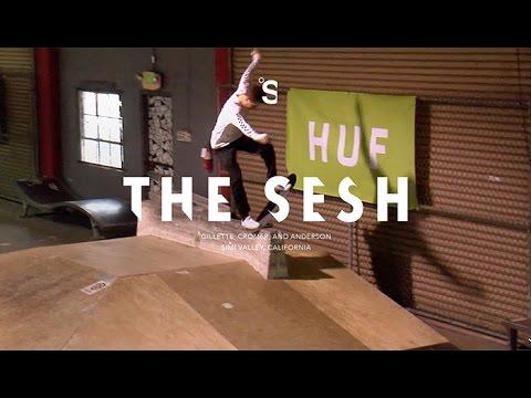 The Sesh: HUF at Skatelab