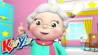 Chère Madame Hubbard | Comptines et Chansons Pour Bébé | Dessins Animés | KiiYii En Français