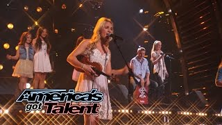 "The Willis Clan: Family Band Puts a Twist on ""The Power of Love"" Cover - America's Got Talent 2014"