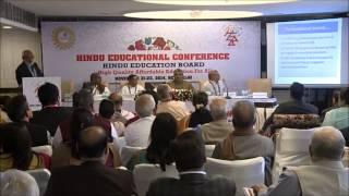 Hindu Education Conference @WHC 2014_Ambassador Kamlesh Arya