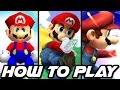 Super Smash Bros ALL HOW TO PLAY Movies and Special Movie (Wii U, GC, N64)