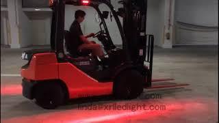 Forklift Led Red Zone Danger Area Warning Light