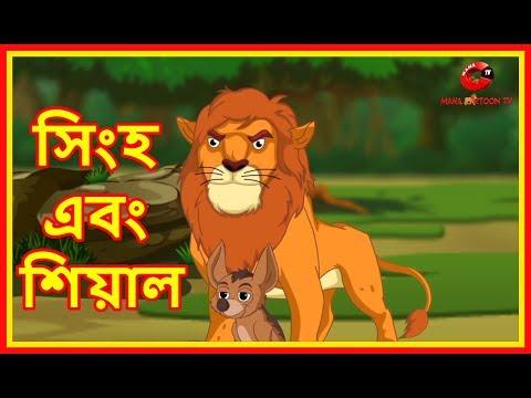 সিংহ এবং শিয়াল | Lion And The Jackal | Moral Stories for Kids | Maha Cartoon Tv Bangla