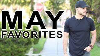 MAY FAVORITES |  MENS FASHION | EVERYDAY LOOK 2016 | ALEX COSTA