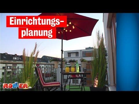 Einrichtungsplanung - Stadt-Balkon einrichten