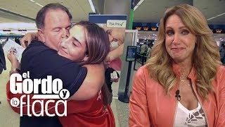 Así fue la despedida de Mia y la que terminó llorando fue Lili Estefan en lugar de su papá | GYF