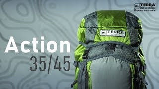 Terra Incognita Action 35 / бирюзовый/серый - відео 1