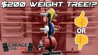 $200 For A Weight Tree? - CFF Fit Plate Storage