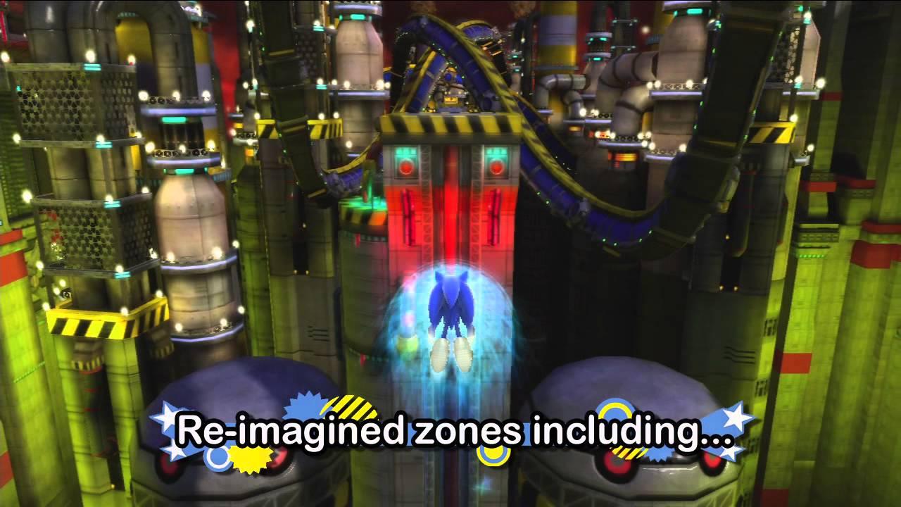 How Three Genesis-Era Sonic Levels Look In Generations