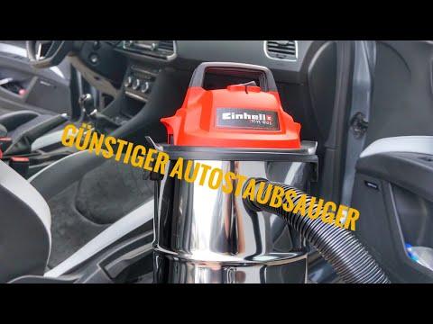 Günstiger Staubsauger fürs Auto  / Einhell Nass-Trockensauger TC-VC 1812 S / Seat Leon Cupra 290