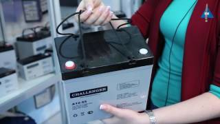 Аккумулятор Challenger G12-55T от компании ПКФ «Электромотор» - видео 1