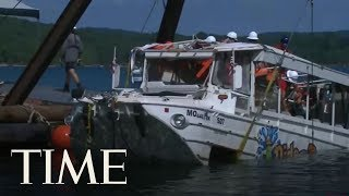 Officials Raise Branson Duck Boat That Sank And Killed 17 People | TIME