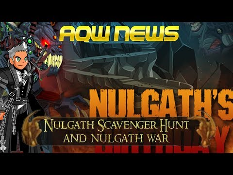 AQW= FLAME DRAGON INVASION! (WAR DROPS) - NULGATH BIRTHDAY