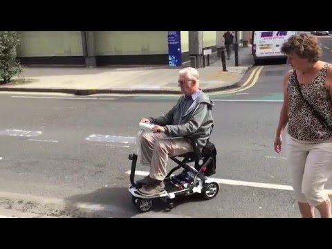 A First Look at the TGA Minimo Folding Mobility Scooter YouTube video thumbnail