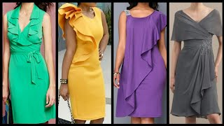 Layered Frill & Ruffle Chiffon Dresses Ideas 2020 - Mini Frill Dresses For Women 2k20