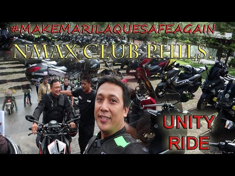 With Sen. JV Ejercito - NMAX DIARY - Episode 2 (NMAX CLUB PHILS Unity Ride)