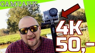 "50,- € Campark ACT74 Action Kamera Wifi 1080P Sports Cam 4K ""DEUTSCH REVIEW"""