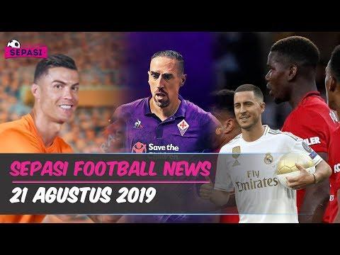 Cristiano Ronaldo Dibully 😌 Ribery ke Fiorentina ⚽ Hazard Membaik 👍 Berita Bola Terbaru