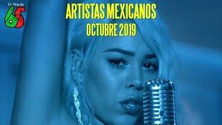 TOP 20 ARTISTAS MEXICANOS [OCTUBRE 2019]