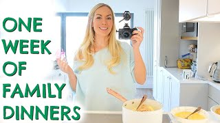 7 FAMILY MEAL IDEAS  |  A WEEK OF DINNERS  |  Emily Norris