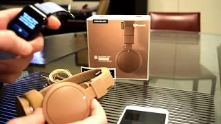URBANEARS  PLATTAN ADV WIRELESS - Unboxing & pairing to iPhone and Apple Watch - Part 2